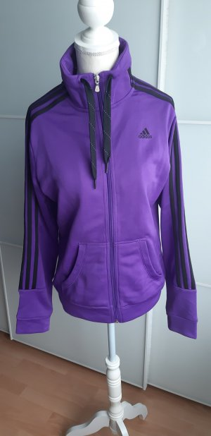 Adidas Trainingsjacke Lila Gr. 38