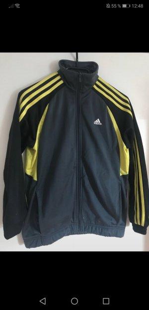 Adidas Trainingsjacke mit gelben Akzenten
