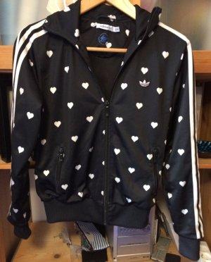 Adidas Trainingsjacke mit Herzen
