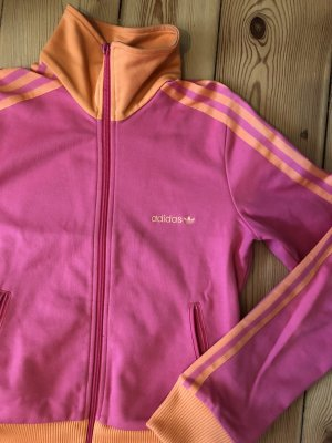 Adidas Trainingsjacke Pink-Orange