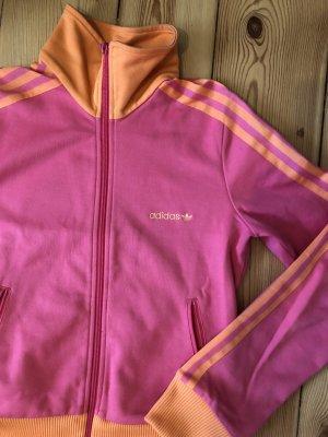 Adidas Trainingsjacke Pink-Orange