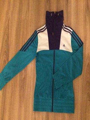 Adidas Trainingsjacke Türkis / Lila