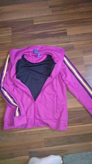 adidas trainingsjacke violett