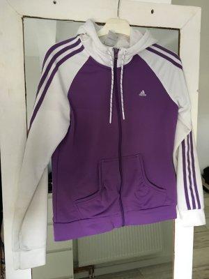 Adidas Trainingsjacke Weiß lila
