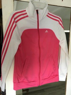 Adidas Trainingsjacke Weiß pink