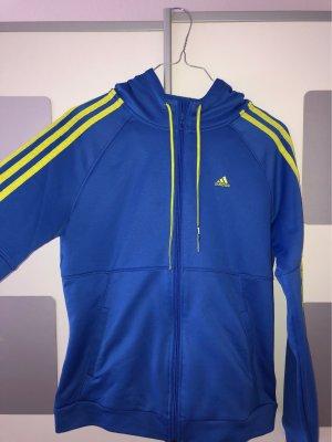Adidas Giacca sport giallo-blu