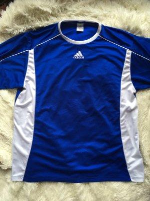 Adidas Trikot Blau weiß
