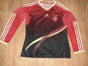 Adidas Sportshirt zwart-baksteenrood