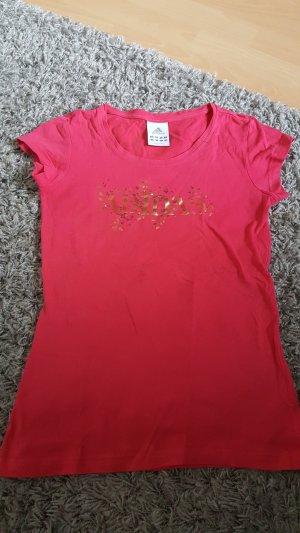Adidas Shirt framboosrood