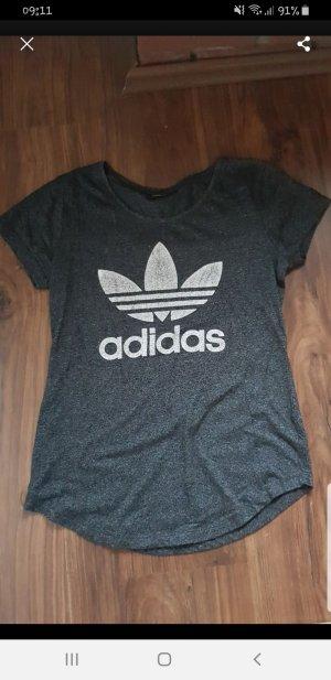 Adidas Originals T-shirt blanc-noir