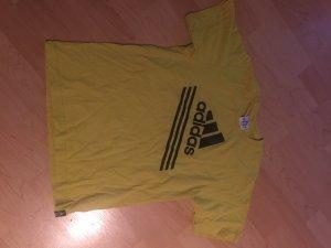 Adidas tshirt gelb Gr s