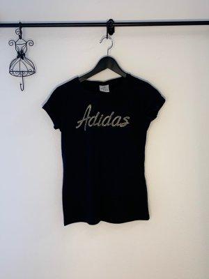 Adidas Tshirt mit Metallperlen