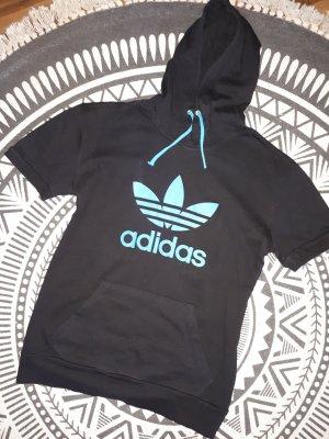 Adidas Sportshirt zwart-blauw
