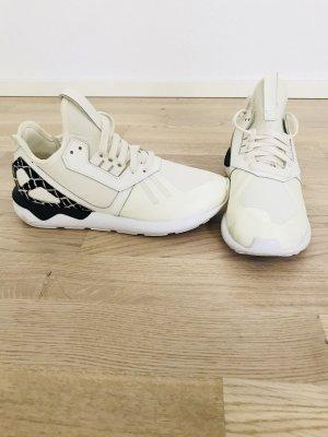 Adidas tubular Runner in weiß schwarz