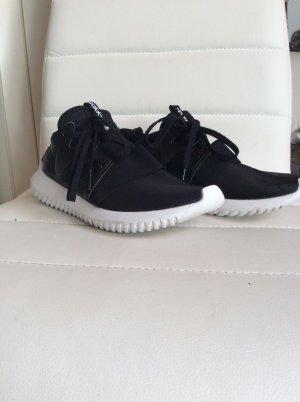 Adidas Tubular schwarz sportlich lässig