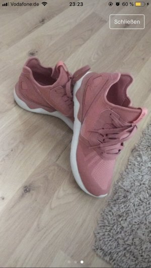 Adidas Lace-Up Sneaker rose-gold-coloured-white