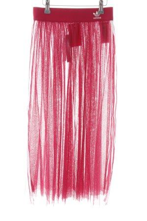 Adidas Tulle Skirt magenta athletic style