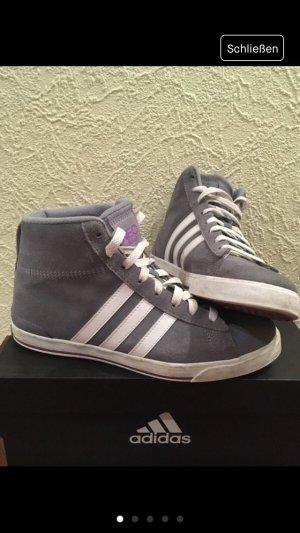 Adidas NEO Zapatilla brogue blanco-gris