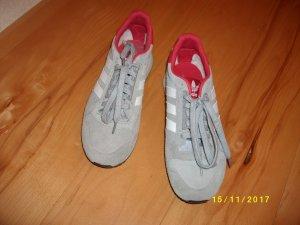 Adidas Zapatos brogue blanco-gris claro