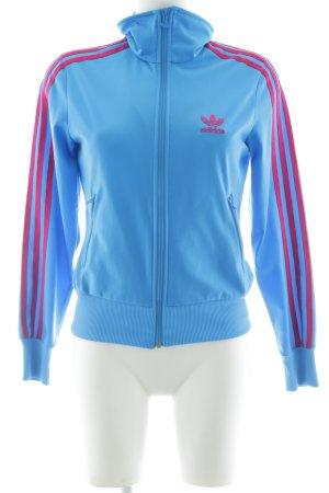 Adidas Chaqueta de entretiempo azul aciano-violeta estilo boyfriend