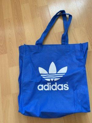 Adidas Borsa di tela blu