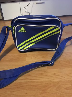 Adidas College Bag neon yellow-blue
