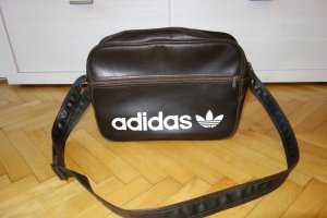 Adidas Borsa college marrone Finta pelle