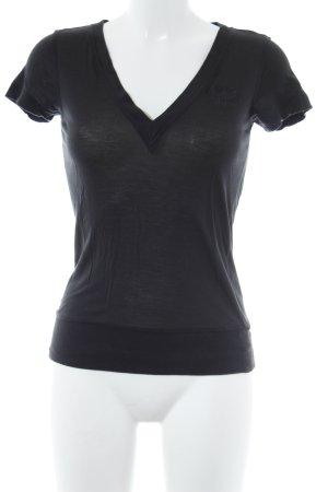 Adidas Camisa con cuello V gris antracita look casual