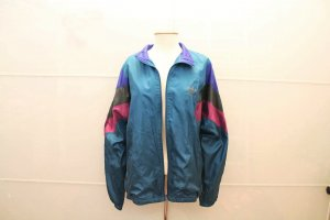 Adidas Vintage Jacke 80/90 s Sport Türkis blau Frauen Männer Oversize Blogger