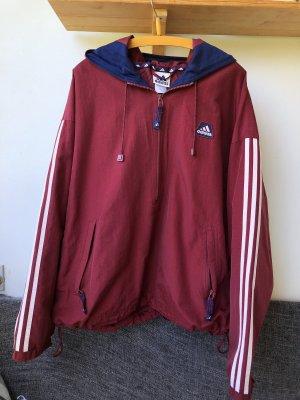 Adidas Oversized Jacket carmine-dark red