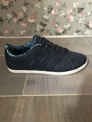 Adidas Lace-Up Sneaker dark blue