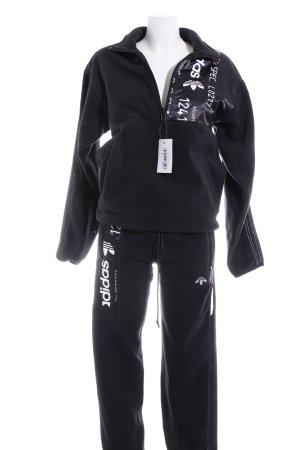 Adidas Ensemble tissé noir style athlétique
