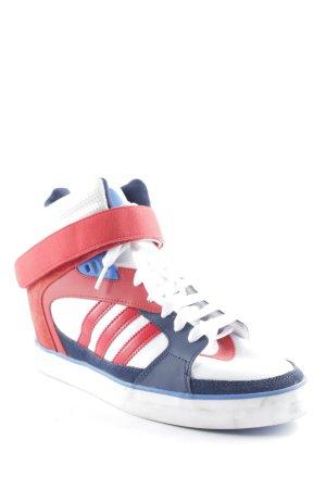 Adidas Wedge Sneaker blau-rot-weiß