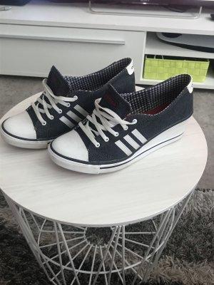 Adidas NEO Heel Sneakers white-dark blue