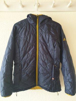 Adidas Between-Seasons Jacket gold orange-steel blue