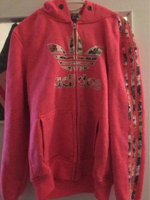 Adidas Hooded Vest pink