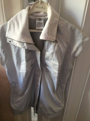 Adidas Gilet de sport argenté polyester