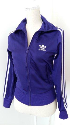 Adidas Gilet de sport blanc-violet foncé