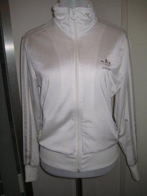 Adidas Weste Weiss Silber Gr.40