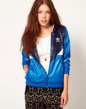 Adidas windbreaker Blau 42 COLORADO