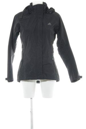 Adidas Windbreaker black casual look