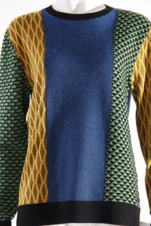 Adidas Wollpullover gemustert