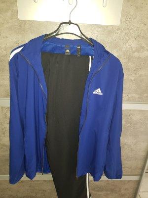 Adidas Sports Jacket blue-black polyester