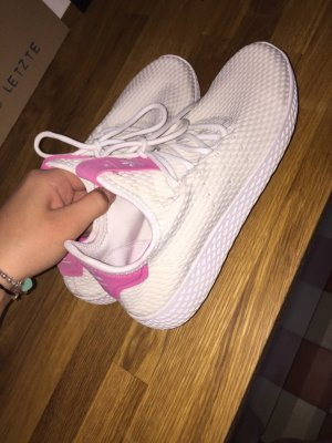 Adidas Originals Slip-on Sneakers white-pink