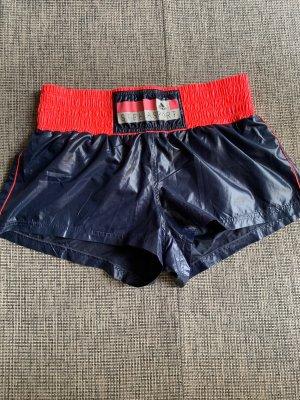 Adidas by Stella McCartney Short de sport bleu foncé-rose fluo