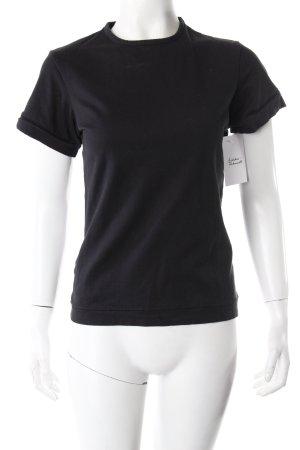 Adidas Y-3 T-Shirt Print schwarz