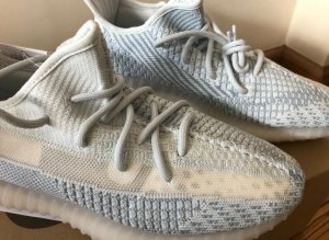 Adidas Yeezy Cloud White 350 V2 (non reflective)