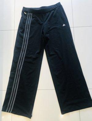 Adidas Pantalone da ginnastica nero-grigio scuro