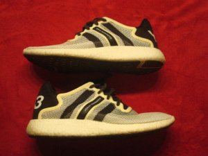 Yohji Yamamoto Sneaker stringata bianco