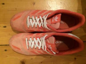 Adidas ZX 700 weave coral
